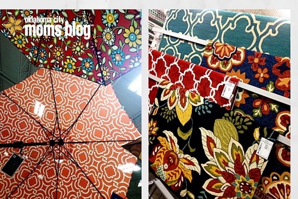 rugs and umbrellas