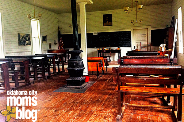 Very cool one-room school house.