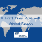 A Part Time Role with Global Reach