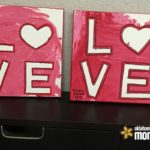 """LOVE"" my kids artwork"