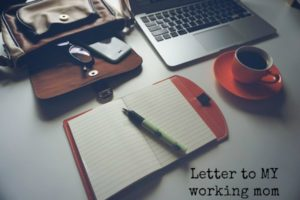 Feature pic my working mom