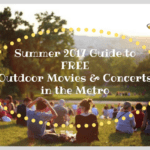 Summer 2017 Guide to FREE Outdoor Movies and Concerts in the Metro