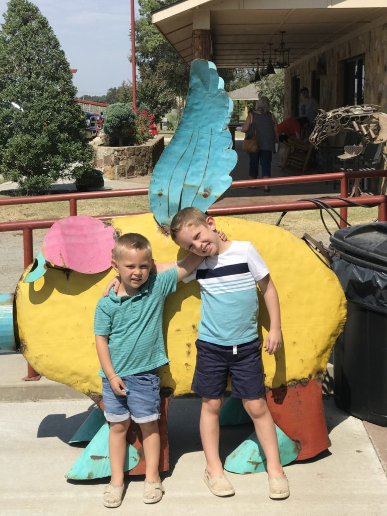 Roadtripping with kids