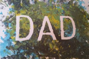 painted dad canvas