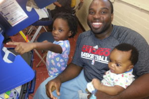 Voting with the kids in 2012