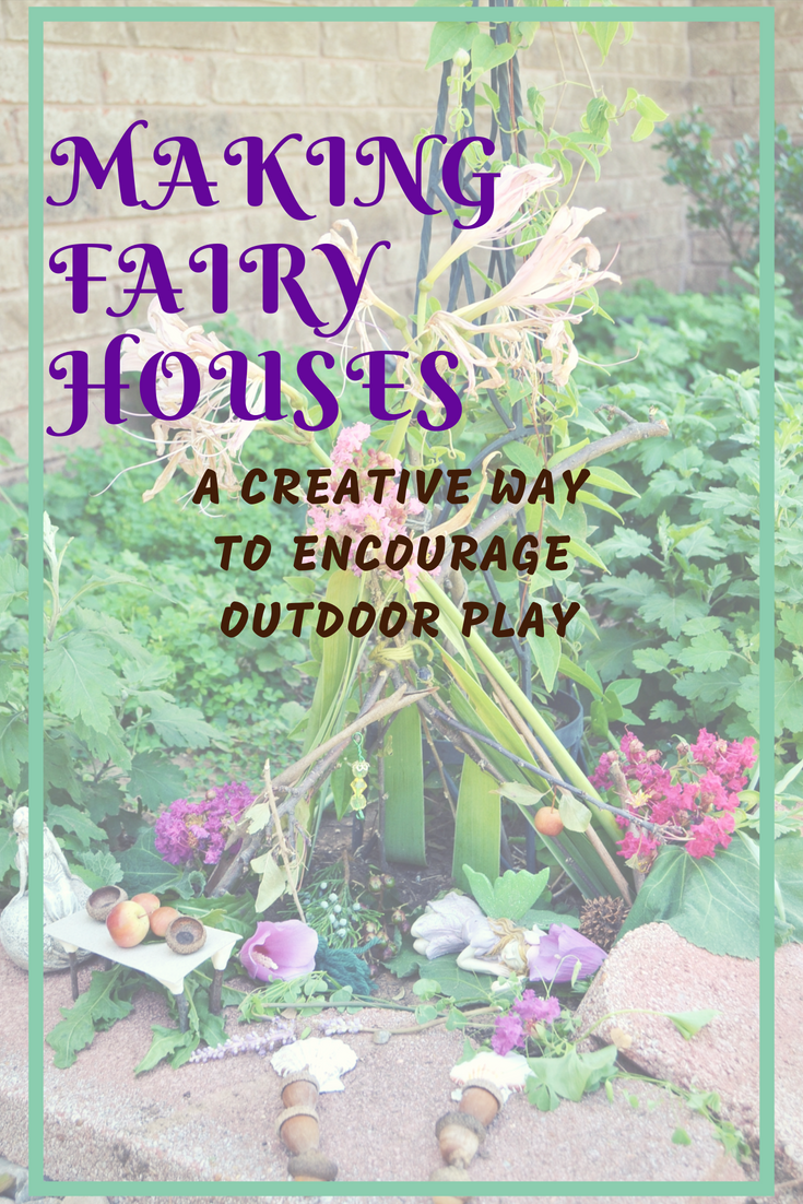 Building Fairy Houses from OKC Moms Blog