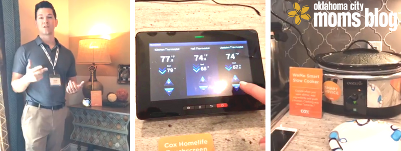 Smart home apps and devices.
