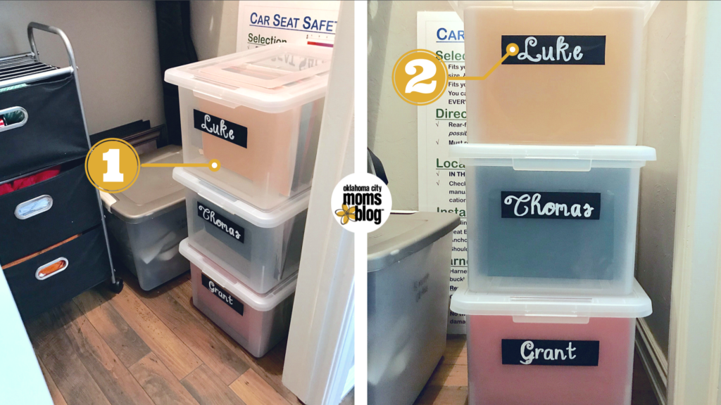 The Container Store file boxes