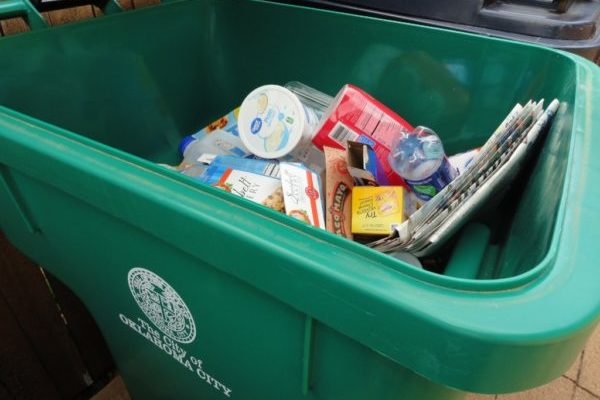 Recycling Dumpsters from OKC