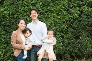 Christina, her husband Hyungdo, and their two children, Yena and Sihun, have remained mostly indoors for the past month in efforts to prevent the Coronavirus from further spreading.